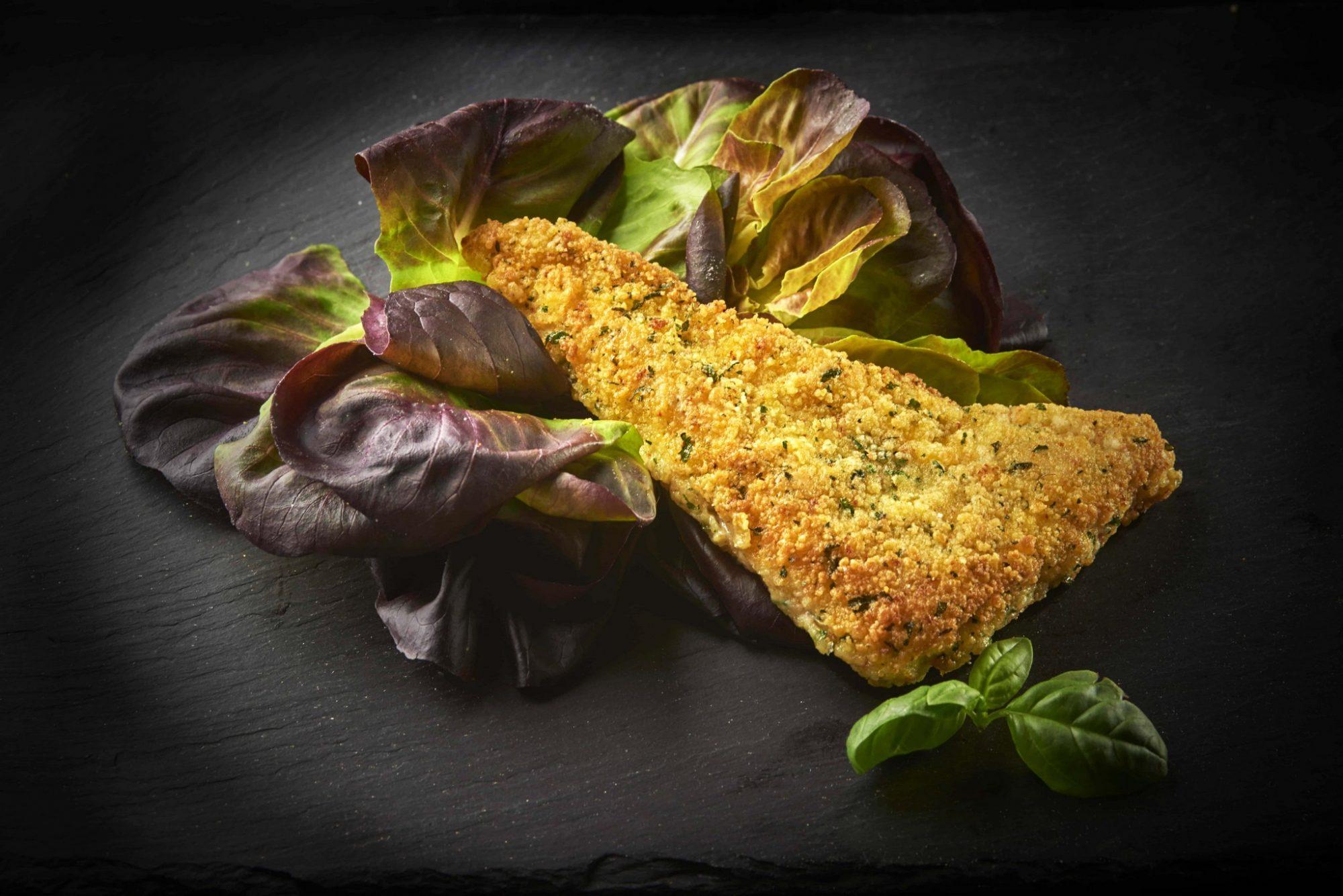 Filetto di merluzzo panato ittica gesia - Cucinare merluzzo surgelato ...