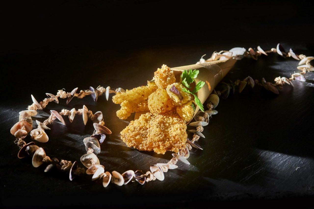 Fritto misto di pesce leggero e senza glutine pronto da cuocere